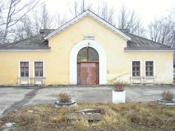 Здание станции Тула-Лихвинская в Туле