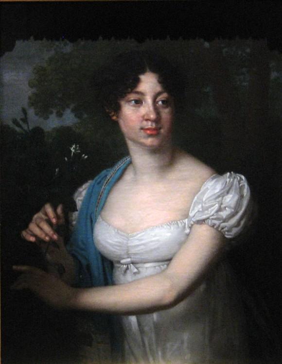 Екатерина Александровна Миркович на портрете работы Боровиковского