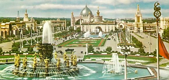 Площадь Колхозов. 1958 год