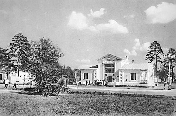 Здание колхозного клуба. 1939 год